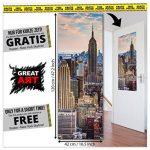 Le lion rugissant -XXL Image murale Le cri du lion - Dimensions du poster by GREAT ART (210 cm x 140) de la marque GREAT-ART image 4 produit