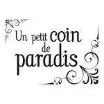 Les Trésors De Lily [M5724 - Planche de Stickers 'Un Petit Coin de Paradis' (50x70 cm) de la marque Les-Trésors-De-Lily image 4 produit