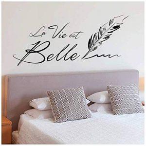 Les Trésors De Lily [Q4809 - Planche de Stickers 'Messages' ('La Vie est Belle') - 50x70 cm de la marque Les-Trésors-De-Lily image 0 produit