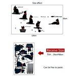 LETAMG Stickers Muraux Famille Sticker Mural PVC Mignon Salon Fond Escaliers Autocollants sur Le Mur Decal Deco Home Decor Decal de la marque LETAMG Stickers Muraux image 1 produit