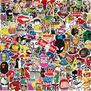 Lot Autocollant [150-PCS] Q-Window Graffiti Stickers Vinyle Enfants Autocollants pour Voiture Tuning Moto Ps4 Livre Vélo Iphone Scrapbooking Ordinateur Xbox One Bebe Valise Macbook Bumper Bomb Sticker de la marque Q-Window image 0 produit