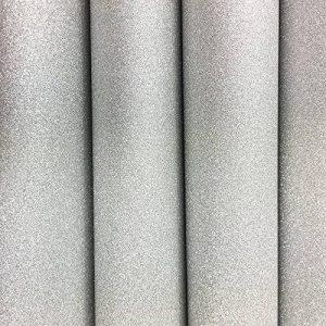 Lot de 10 feuilles Grand 30 cm x 30 cm Sticker Autocollant Décoration Paillettes Papier Art Sparkling Panneau métallique en Couleur de cadeau de Noël DIY Scrapbooking argent de la marque SuperHandwerk image 0 produit