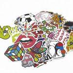 lot de 100–acheter tout aléatoire de Musique-Guitare en vinyle pour Skateboard Étui de transport en vinyle-lot stickers pièces (Import Allemagne) de la marque EveryOne-Buy image 2 produit