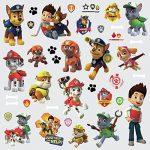 Lot de 37 stickers repositionnables Paw Patrol la Pat Patrouille de la marque ATTWOOD image 1 produit