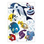 Lot de 75 stickers muraux décoratifs pour chambre d'enfant sur le thème de l'océan de la marque geschenke-fabrik-de image 1 produit