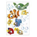 Lot de 75 stickers muraux décoratifs pour chambre d'enfant sur le thème de l'océan de la marque geschenke-fabrik-de image 3 produit