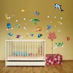 Lot de 75 stickers muraux décoratifs pour chambre d'enfant sur le thème de l'océan de la marque geschenke-fabrik-de image 4 produit
