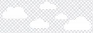 lovely label Frise murale adhésive enfant à motifs nuages, à carreaux gris – Frise chambre enfant garçon ou fille de 450 x 11,5 cm – Décoration murale chambre bébé autocollante et non toxique, fabriqué en Allemagne de la marque lovely label image 0 produit