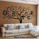 LUCKKYY Stickers muraux Bdecoll - Noirs - avec Cadres Photo pour Motif Arbre de Famille de la marque LUCKKYY image 2 produit
