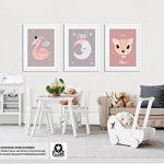 Luvel® - 3x affiches enfants, décorations murales, bébé, enfant Poster (P12) de la marque Luvel image 2 produit