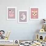 Luvel® - 3x affiches enfants, décorations murales, bébé, enfant Poster (P12) de la marque Luvel image 3 produit