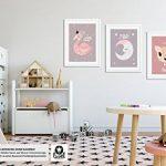 Luvel® - 3x affiches enfants, décorations murales, bébé, enfant Poster (P12) de la marque Luvel image 4 produit
