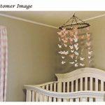 Luxbon 100 Pcs 3D Papillon Stickers Autocollant de Mur DIY Art Chambre Ornement Papier Pink de la marque Luxbon image 3 produit