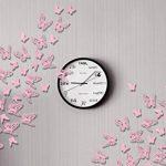 Luxbon 100 Pcs 3D Papillon Stickers Autocollant de Mur DIY Art Chambre Ornement Papier Pink de la marque Luxbon image 4 produit