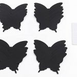 Luxbon Carton 3D Papillon Autocollant Bricolage avec Collant Double-Face Noir 100pcs de la marque Luxbon image 2 produit
