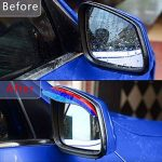 M Power Style Lot de 2 autocollants pour rétroviseur de voiture 3 couleurs de la marque KKShop image 1 produit