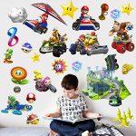 Mario Kart Autocollant Stickers Mural de la marque 4YourLittle1 image 2 produit