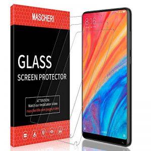 MASCHERI Protection écran pour Xiaomi Mi Mix 2s / Mi Mix 2, [3 Pièces] Verre Trempé [Garantie de Remplacement à Durée de Vie] Screen Protector Film -Transparent de la marque MASCHERI image 0 produit