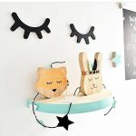 Meerveil 3D Sticker Mural en Bois, Autocollant en Bois, Décoration Chambre d'Enfant Bébé, Ambovile Créatif, en Forme de Cils (Noir) de la marque Meerveil image 4 produit