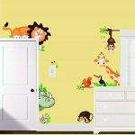 MFEIR® Jungle sauvage animaux sticker mural sticker pour bébé Enfants Chambre WallPaper de la marque MFEIR image 1 produit