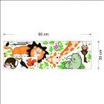 MFEIR® Jungle sauvage animaux sticker mural sticker pour bébé Enfants Chambre WallPaper de la marque MFEIR image 3 produit