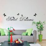 "MFEIR® Stickers Muraux citations Stickers Muraux chambre adulte ""Sweet Dreams"" 25 x 70cm de la marque MFEIR image 1 produit"