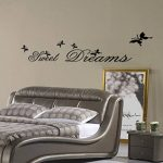 "MFEIR® Stickers Muraux citations Stickers Muraux chambre adulte ""Sweet Dreams"" 25 x 70cm de la marque MFEIR image 2 produit"
