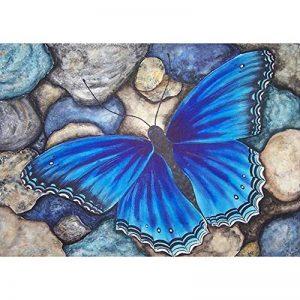 Mikolotuk Peinture au Diamant DIY Salon Chambre Décoration Autocollant Mural Plein Forage Papillon 40 * 30cm de la marque Mikolotuk image 0 produit