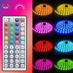Minger Kit de Ruban à LED Etanche 5M 5050 RGB SMD Multicolore Bande LED Lumineuse avec Télécommande à Infrarouge 44 Touches et Alimentation 12V de la marque Govee image 1 produit