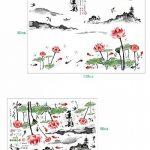 Mondial-Fete - Sticker adhésif Lotus et Ambiance Asiatique (80 x 118 cm) de la marque Mondial-fete image 1 produit