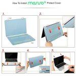 MOSISO Coque Compatible MacBook Pro 15 Pouces A1990 A1707 2018/2017/2016 - Ultra Slim Coque Rigide Compatible Macbook Pro 15 Pouces Touch Bar et Touch ID, Marbre Noir de la marque MOSISO image 2 produit