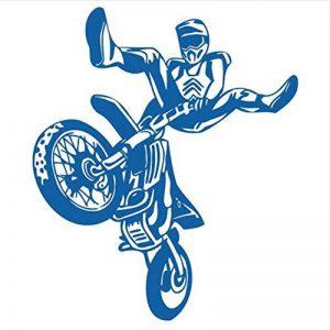 Mrhxly Moto Moto Cross Country Course Sport Art Wall Sticker Vinyle De Voiture Murale Creative Decal Pour Enfants Chambre 69 * 82 Cm de la marque mrhxly image 0 produit