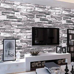 MultiWare Papier Peint Pièrre Brique 3D Pour Chambre Salon TV de la marque MultiWare image 0 produit