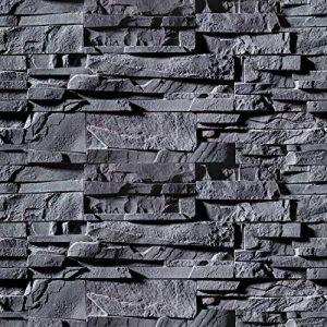 murando - Papier peint adhésif 10 m - papier peint 3D - Sticker mural - placage décoratif - revêtement mural - feuille décorative - adhésif mural -Pierre Gris f-B-0226-an-a de la marque murando image 0 produit