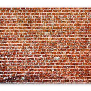 murando Papier peint intissé 250x175 cm Décoration Murale XXL Poster Tableaux Muraux Tapisserie Photo Trompe l'oeil brique texture f-B-0030-a-d de la marque Papier-peint image 0 produit