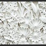 murando Papier peint intissé 400x280 cm Décoration Murale XXL Poster Tableaux Muraux Tapisserie Photo Trompe l'oeil blanc f-B-0038-a-a de la marque Papier-peint image 3 produit