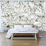 murando Papier peint intissé 400x280 cm Décoration Murale XXL Poster Tableaux Muraux Tapisserie Photo Trompe l'oeil blanc f-B-0038-a-a de la marque Papier-peint image 1 produit