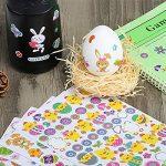 Naler Pâques Stickers autocollants en vinyle pour enfants enfant DIY Craft Art faire de la décoration, 6feuilles de la marque Naler image 4 produit
