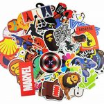 Neuleben Autocollant Lot [100-pcs] Graffiti Autocollant Stickers vinyles pour ordinateur portable, enfants, voitures, moto, vélo, Skateboard bagages, Bumper Stickers hippie autocollants Bomb étanche de la marque Neuleben image 1 produit