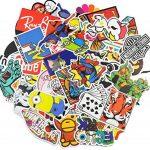 Neuleben Autocollant Lot [100-pcs] Graffiti Autocollant Stickers vinyles pour ordinateur portable, enfants, voitures, moto, vélo, Skateboard bagages, Bumper Stickers hippie autocollants Bomb étanche de la marque Neuleben image 2 produit