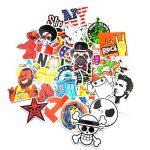Neuleben Autocollant Lot (200-pcs) Graffiti Autocollant Stickers vinyles pour ordinateur portable, enfants, voitures, moto, vélo, Skateboard bagages, Bumper Stickers hippie autocollants Bomb étanche. de la marque Sanmatic image 4 produit