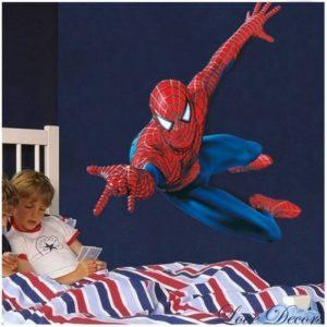 Énorme Grand Spiderman Stickers muraux enfants garçons Chambre Decal art Mural Decor. de la marque Deco-online image 0 produit