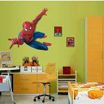 Énorme Grand Spiderman Stickers muraux enfants garçons Chambre Decal art Mural Decor. de la marque Deco-online image 2 produit