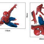 Énorme Grand Spiderman Stickers muraux enfants garçons Chambre Decal art Mural Decor. de la marque Deco-online image 4 produit