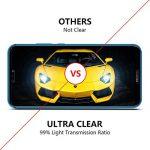 OMOTON Huawei P20 Lite Film Protection Ecran Verre Trempé (5.84') [Couvir l'écran Complèt] [sans Bulles] Protecteur Ecran Noir (5.84 Pouces) de la marque OMOTON image 4 produit