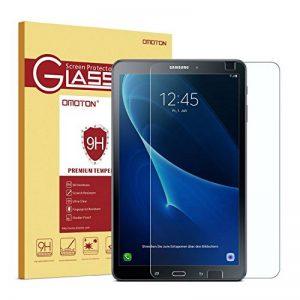 """OMOTON Samsung Galaxy Tab A 10.1"""" 2016 SM-T580N / T585N Protection D'écran Verre Trempé [Sans Bulles] Film Protecteur Ecran [Dureté 9H] de la marque OMOTON image 0 produit"""