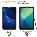 """OMOTON Samsung Galaxy Tab A 10.1"""" 2016 SM-T580N / T585N Protection D'écran Verre Trempé [Sans Bulles] Film Protecteur Ecran [Dureté 9H] de la marque OMOTON image 1 produit"""