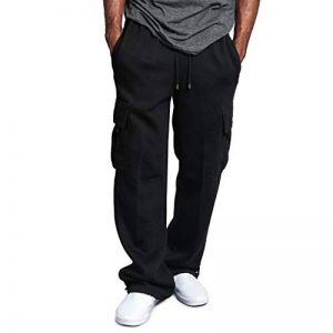 OSYARD-Pantalon de Sport Homme Longue Cargo Style avec Poches Cordon Traning Uni Couleur Pants de la marque OSYARD-Pantalon image 0 produit