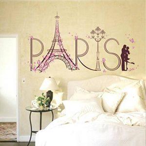 Ouneed® Stickers Muraux Tour Eiffel 60cm*90cm (Paris) de la marque Ouneed® image 0 produit
