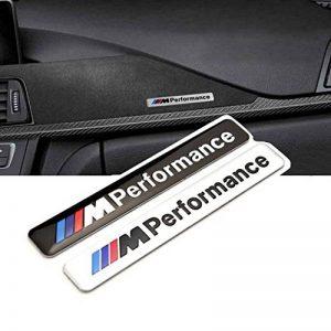 Oxgrow (TM) 1x Car Styling 85x 12mm Motosport M Power Performance de Voiture Logo Capuche Moto Emblème Autocollant pour BMW E46E60E90E92F20 de la marque OxGrow image 0 produit
